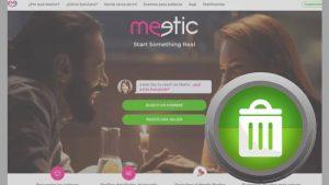 Borrar una Cuenta de Meetic