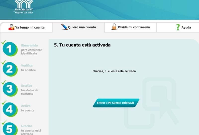 Cómo registrar una cuenta en Infonavit