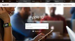 Crear una Cuenta de iCloud