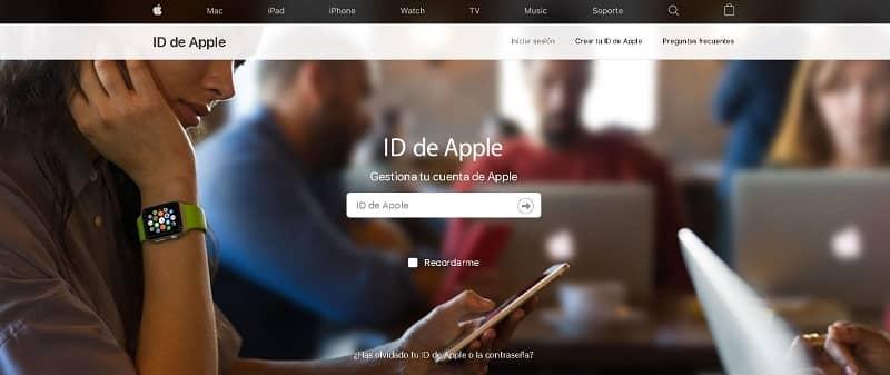 Registrar una Cuenta de Apple ID