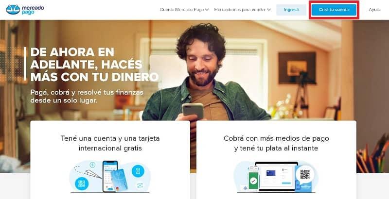 Crear una cuenta en Mercado Pago gratis